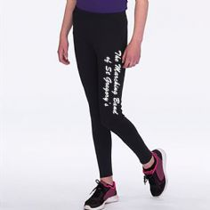 St Gregory's Kids Athletic Leggings